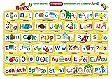 Lerne mehr mit Fragenbär: Lerne mehr mit Fragenbär: Fragenbär-Lernposter, Buchstaben und Laute von A bis Z  (Querformat)