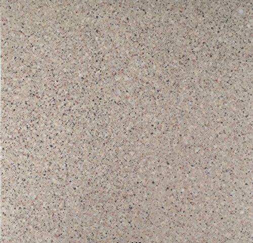 PVC Vinyl-Bodenbelag in Granit hell Optik | CV PVC-Belag verfügbar in der Breite 300 cm & Länge 300 cm | CV-Boden wird in benötigter Größe als Meterware geliefert | rutschhemmend & pflegeleicht