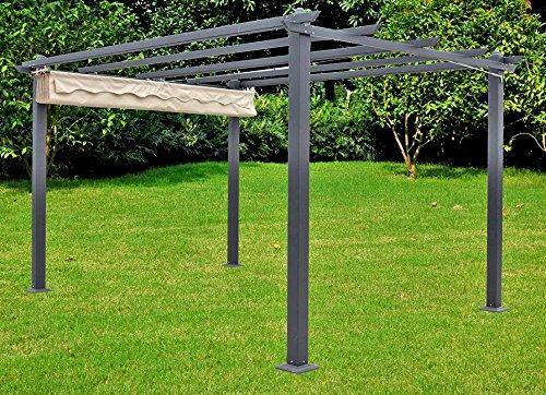 Garten Pavillon Terrasse Überdachung Sonnendach Markise Sonnenschutz Möbel Sonnenschutz Für Terrasse