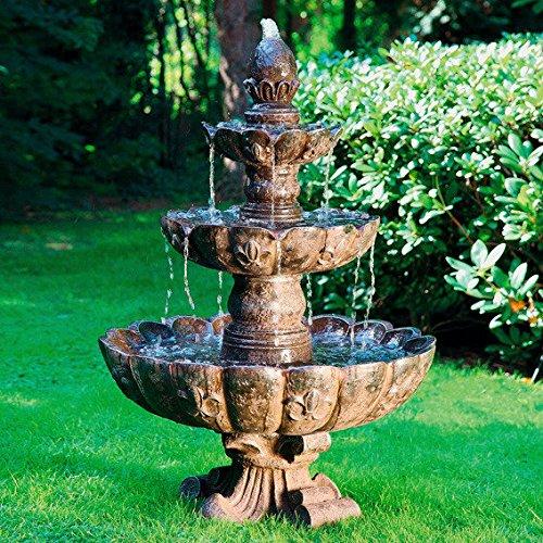 Gärtner Pötschke Kaskaden-Brunnen Fontaine de Palais