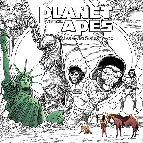 Planet of the Apes Adult Colouring Book