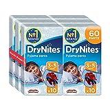 Huggies DryNites Pyjama Pants for Boys, Age 3-5 - 60 Pants Total