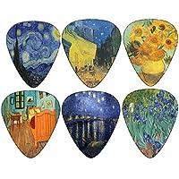 Vincent Van Gogh Guitar Picks - celluloide