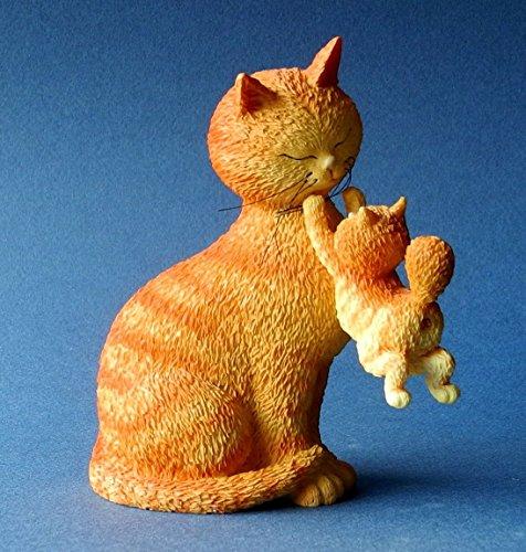 Statue Frohe Tage Katzen von Albert Dubout (Albert-statue)