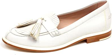F3356 Mocassino Donna Ivory Tod'S Scarpe Loafer Shoe Woman