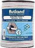 Rutland 30-126R Maxi Elektroband, 12 mm, weiß mit rot und grün