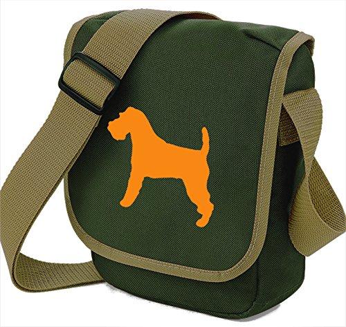Bag Pixie - Borsa a tracolla unisex adulti Orange Dog Olive Bag