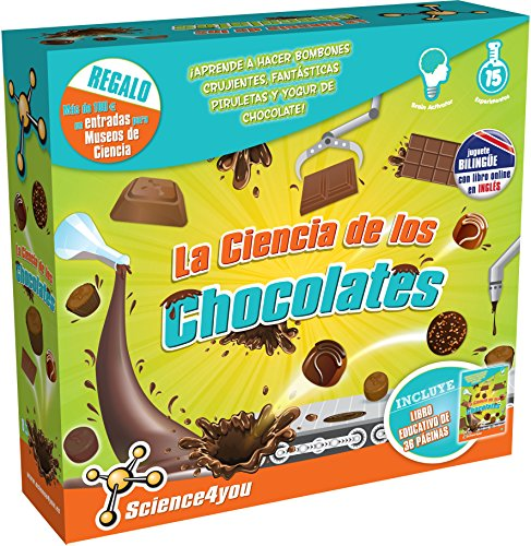 Science4you - La Ciencia de los Chocolates, Juguete Educativo y científico (602816)