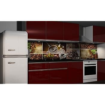 Dekofolie Fliesenspiegel Küchenrückwand Folie selbstklebend ...
