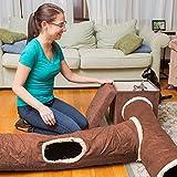 Interaktives Katzentunnel-Spielzeug – Bestens geeignet für verspielte Katzen und Katzenbabys - 6