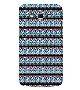 EPICCASE jazzy triangles Mobile Back Case Cover For Samsung Galaxy Grand Max & Grand 3 (Designer Case)