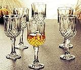 PrimeWorld Elegant Red Wine Glass Set 220 ml (6)