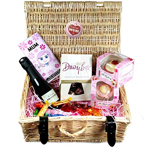 Special Mum Prosecco Dairy Box , Mr Kipling, Quality Street Luxury Chocolate Mother's Day Hamper By Moreton Gifts Ideal Mother's Day / Birthday Gift