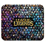 Unique Design Custom League of Legends Rectangle Non-Slip Rubber Mousepad Gaming Mouse Pad