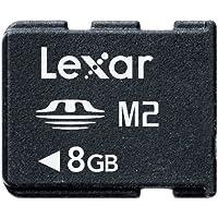 Lexar Carte Mémoire Memory Stick 8 Go M2 Sans Adaptateur Noir Mark 2 LMSM8GBASBEU