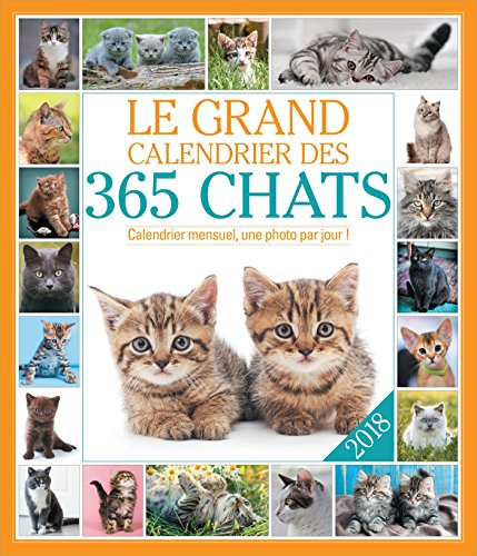 Le grand Calendrier des 365 chats 2018