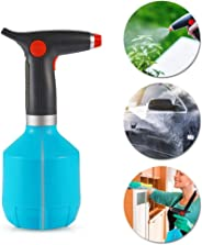 Fully Automatic Handheld Watering Can,1000ML DokFin Battery Operated Sprayer, Rechargeable Spray Bottle with Adjustable Coppe