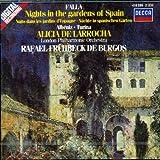 Falla: Nuits dans les Jardins d'Espagne / Albeniz: Rapsodia espanola / Turina: Rapsodia Sinfonica