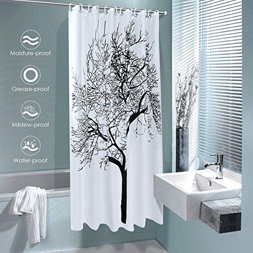 Homitex tenda doccia poliestere impermeabile 180 180cm - Tenda doccia per vasca ...