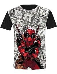 Deadpool Dollars Camiseta multicolor