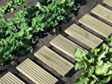 Rollweg Kiefer kdi B25 x L250 cm für den Weg im Garten von Gartenwelt Riegelsberger