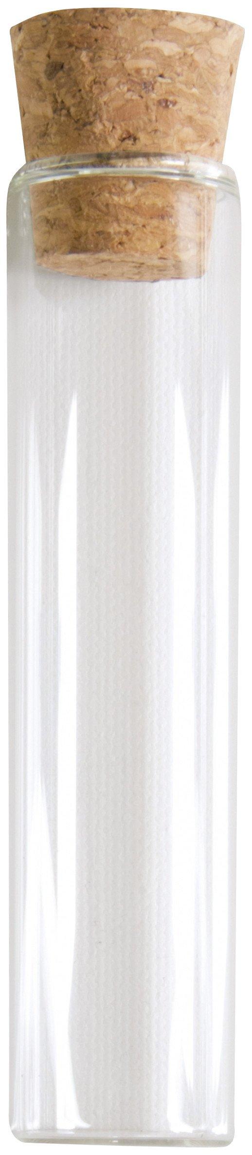 Provetta in vetro 10 cm Taglia Unica