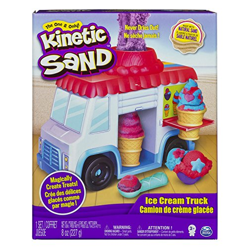 Spin Master 6035805 - Kinetic Sand - Ice Cream Truck