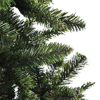 GOJOOASIS-Weihnachtsbaum-knstlicher-Tannenbaum-Christbaum-Metallstnder-Schneller-Aufbau-mit-Klappsystem-Material-PVC