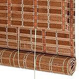Bambusrollo, Roll-Up-Jalousien Bambusrollos mit Seitenzug, Geeignet für Wohnzimmer/Schlafzimmer/Aufteilung/Restaurant (größe : 50×120cm)