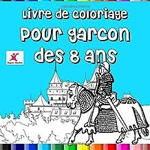 Livre de coloriage pour garçon dès 8 ans