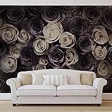Weiß Graue Rosen Blumen   Wallsticker Warehouse   Fototapete   Tapete    Fotomural   Mural Wandbild