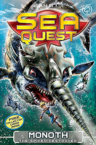 Monoth the Spiked Destroyer: Book 20 (Sea Quest)