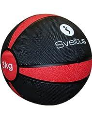 Sveltus - Pelota de ejercicio, de 3kg, color rojo