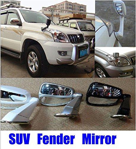 Preisvergleich Produktbild Third Party SUV Fender Spiegel Set Side Wing Fender View Spiegel eigenmächtige für Geländewagen Schwarz