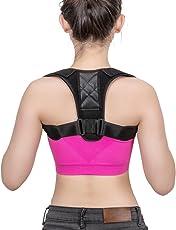 Eletorot Geradehalter zur Haltungskorrektur Posture Corrector Haltungstrainer Schulter Rückenstütze Rücken Haltungsbandage mit verstellbare Größe für Männer und Frauen,verstellbar & atmungsaktiv für haltungsbedingte Nacken, Rücken und Schulterschmerzen