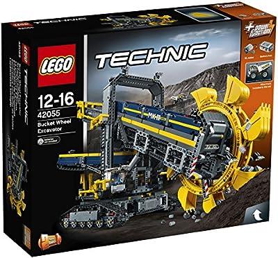 LEGO Technic - Excavadora de cangilones, juegos de construcción (42055)