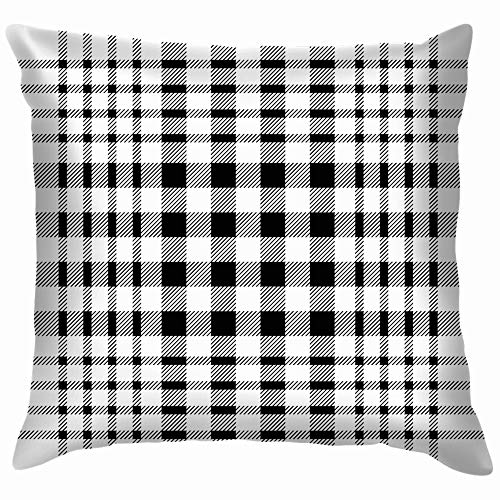 vintage cap Geometric Smallscale Checkers Stripes Beauty Fashion Cotton Linen Home Decorative Throw Pillow Case Cushion Cover for Sofa Couch 18X18 Inch