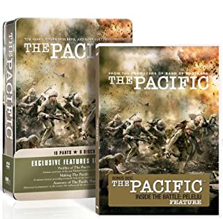 The Pacific - Complete HBO Series - Amazon Exclusive (Includes: Inside The Battle Of Peleliu) [DVD] (B0036ORVRC) | Amazon price tracker / tracking, Amazon price history charts, Amazon price watches, Amazon price drop alerts