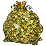 Pomme Pidou Hucha XXXL King Frog Giant Freddy | Hucha XXXL Rana Rey Original en Cerámica |...