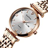 EuroTme Women's Wrist Watch, LSS Quartz 3ATM Water Resistance Ladies Watch