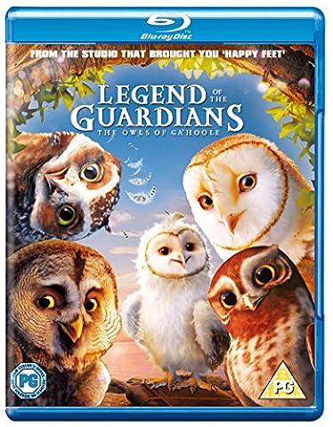 Legend of the Guardians: The Owls of Ga'Hoole [Blu-ray] [Region Free]