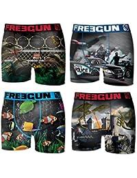 Lot 4 Boxers Freegun Collection Fg17 Junior