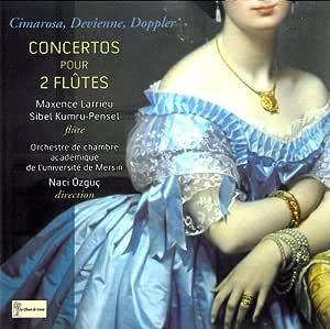 Concertos pour 2 Flûtes Cimarosa, Devienne, Doppler