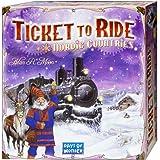 Ticket to Ride - Nordic Countries - Bordspel - Kaart van Scandinavië - Engelstalig - Voor de hele Familie