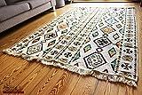 200x135 cm Orientalischer Teppich, Kelim,Kilim,Carpet,Bodenmatte,Bodenbelag,Rug Neu aus Damaskunst S 1-4-43