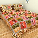 Designer Sanganeri Print Cotton Bedsheet...