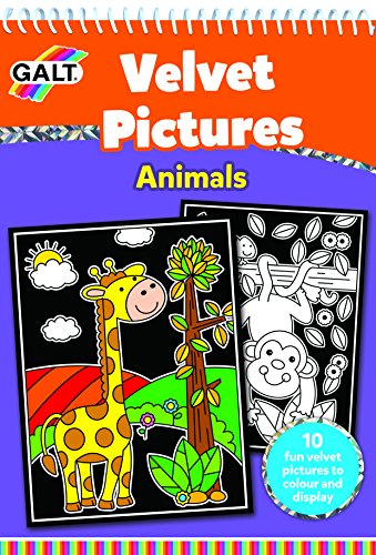 Galt Toys Velvet Picture Animals