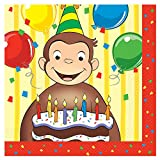 Curious George Lunch Napkins (16 Count)