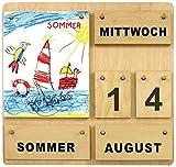 Holzkalender Kinderkünstler ( 35 x 35 cm )