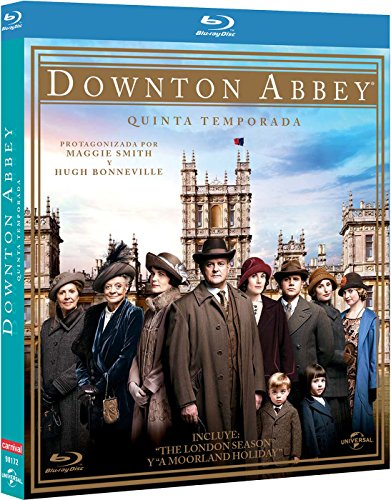 Downton Abbey – Temporada 5 [Blu-ray] 61RoP12BYXL